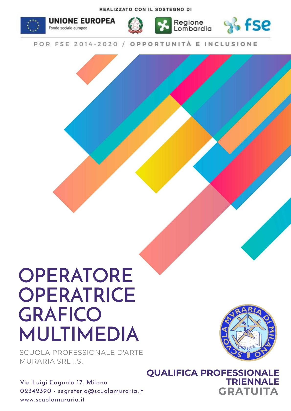 manifesto operatore grafico multimedia
