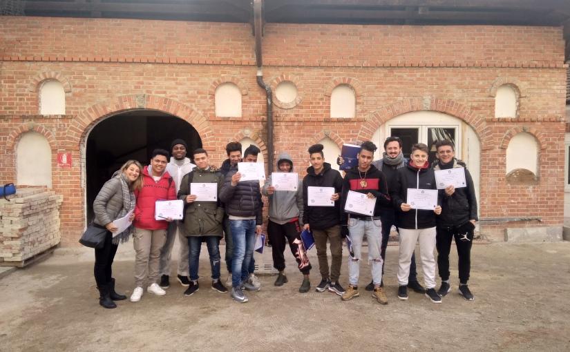 """Workshop """"Laboratorio creativo"""" della Scuola Professionale d'ArteMuraria"""