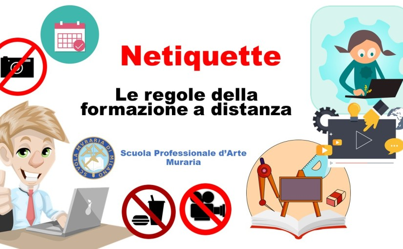 NETIQUETTE – come comportarsi in aula virtuale
