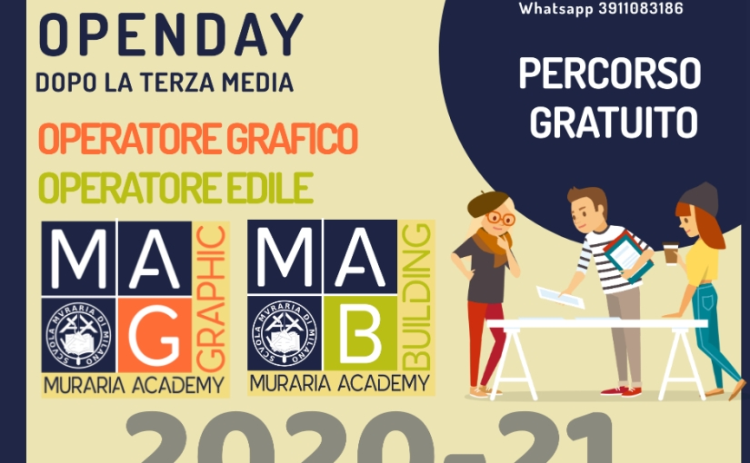 Open day online su Facebook e appuntamenti individuali